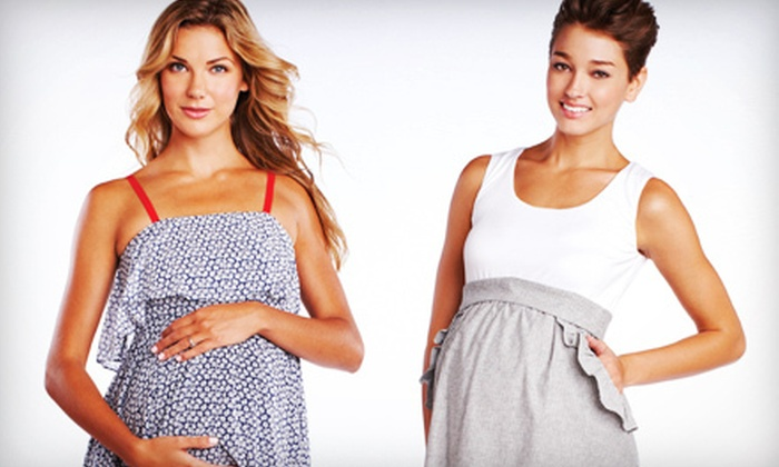 Pickles & Ice Cream Maternity Apparel - Uptown Broadway: $25 for $50 Worth of Designer Maternity Clothes and Accessories at Pickles & Ice Cream Maternity Apparel