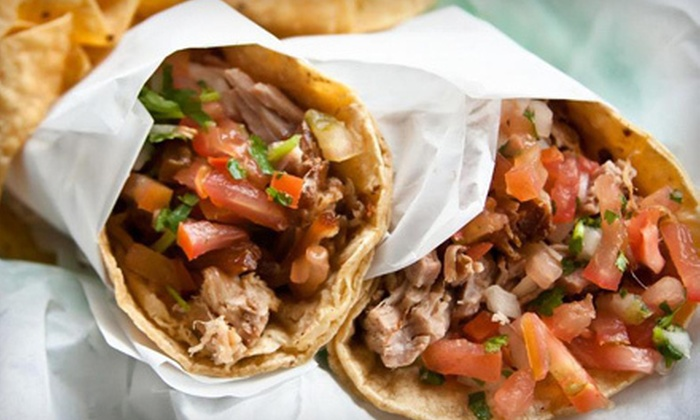 Gordo Taqueria - Multiple Locations: $10 for $20 Worth of Mexican Food at Gordo Taqueria