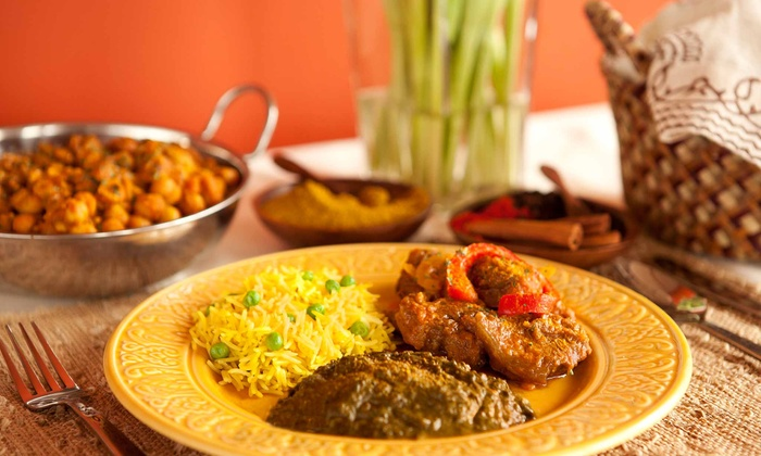Indian Palace Restaurant - Town Center: Indian and American Cuisine at Indian Palace Restaurant (50% Off). Three Options Available.
