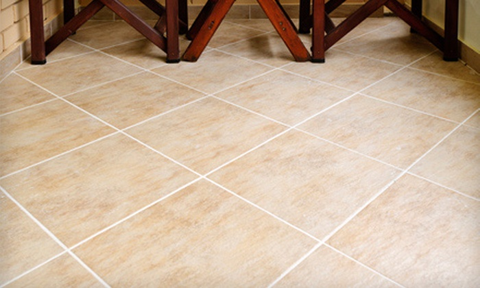 Above The Rest Inc. - Blue Oaks: Tile and Grout Cleaning up to 100 Square Feet with Optional Sealing from Above The Rest Inc. (51% Off)