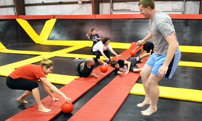 Stratosphere Trampoline Park-Hainesport - Stratosphere Trampoline Park: Two Hours of Jump Time for Two or Four People at Stratosphere Trampoline Park (Up to 39% Off)