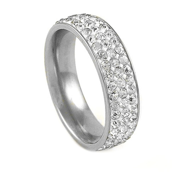 97f567a15 Up To 87% Off on Swarovski Elements Crystal Ring | Groupon Goods
