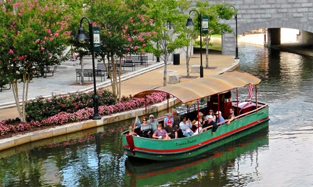 $6 for a 40-Minute Historical Canal Cruise for Two from Riverfront Canal Cruises (Up to $12 Value)