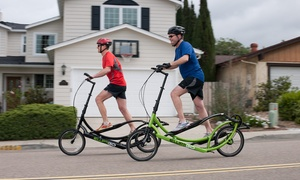Push Pedal Pull: One-Day ElliptiGo Exercise-Machine Rental for Two or Four from Push Pedal Pull (69% Off)