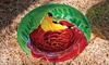 Decorative Glass Birdbaths: $24.99 for a Decorative Glass Birdbath (Up to $35 List Price). Multiple Designs Available. Free Shipping and Returns.