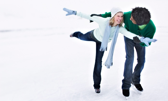 Boston Common Frog Pond - Boston Common Frog Pond: Ice Skating for Two or Four at Boston Common Frog Pond (Up to 43% Off)