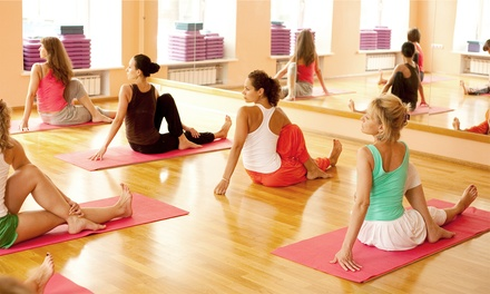10 Yoga Classes or One Month of Unlimited Yoga Classes at Integral Yoga Institute (Up to 71% Off)