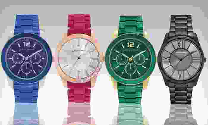 Jules and James Women's Watches: $20 for a Jules and James Women's Watch ($39.99 List Price). 23 Options Available. Free Shipping and Free Returns.