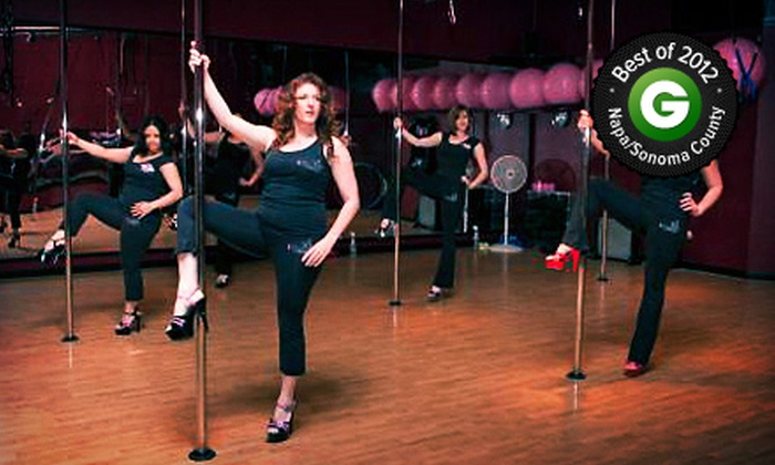 iCandy Pole Dance Studio - Rohnert Park: Best of 2012: 6 or 12 Pole-Dancing Classes or Private Pole-Dancing Party for Up to 10 (Up to 54% Off)