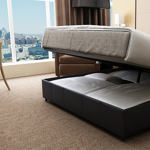 Super Gas Lift Ottoman Bed Frame With Storage Space Queen 399 Or King 439 Dont Pay Up To 999 Gamerscity Chair Design For Home Gamerscityorg