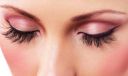 Full Set of Eyelash Extensions or Premium Diva Eyelash Extensions at The Girls' Lounge (60% Off)