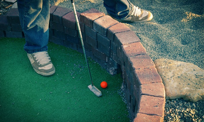 Bear Creek Park Train - Surrey: Mini Golf with Optional Train Ride for Two, Four, or Eight at Bear Creek Park Train (Up to 61% Off)