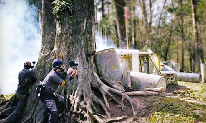Go Big Paintball - Lynden: Paintball Package for Two or Four or 10-Person Paintball Party at Go Big Paintball in Lynden (Up to 57% Off)