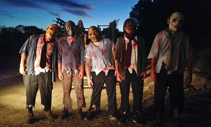 Lehigh Valley Zombies - Lowhill - Weisenberg Twps. Rural Historic District: Paintball Zombie Survival Adventure for Two at Lehigh Valley Zombies (Up to 50% Off). 15 Dates Available.