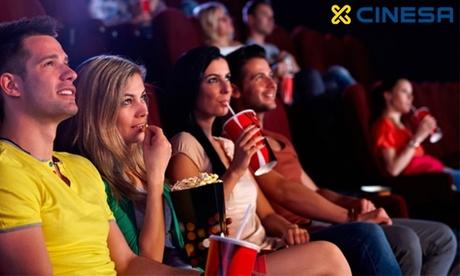 Entrada de cine para Madrid y Barcelona, Resto de península, Baleares y Canarias (hasta 42% de descuento)