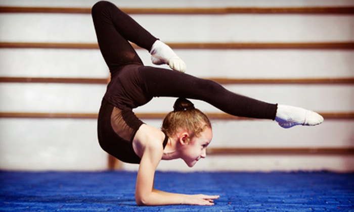 Tilton's Acrobatics and Tumbling - Stafford - Tualatin Valley: $25 for One Month of Gymnastics Classes at Tilton's Acrobatics and Tumbling ($60 Value)