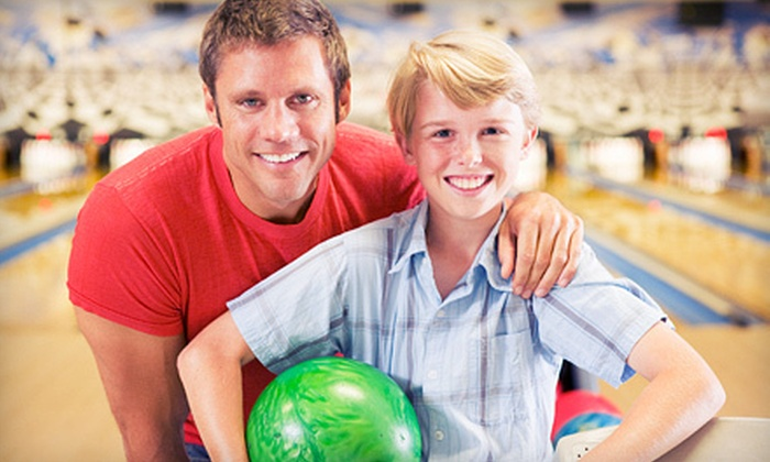 Woodburn Bowl - Ladd Hill: Bowling for Four with Shoe Rental, Soda, and Nachos or Glo-Bowling for Two or Four at Woodburn Bowl (Up to 53% Off)