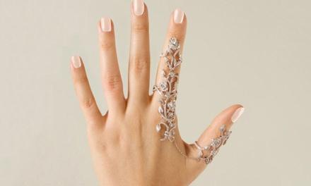 Blumen-Ring für Damen in Silber undoder Gold (Koln)