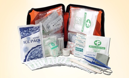 220-Piece First Aid Essentials Kit