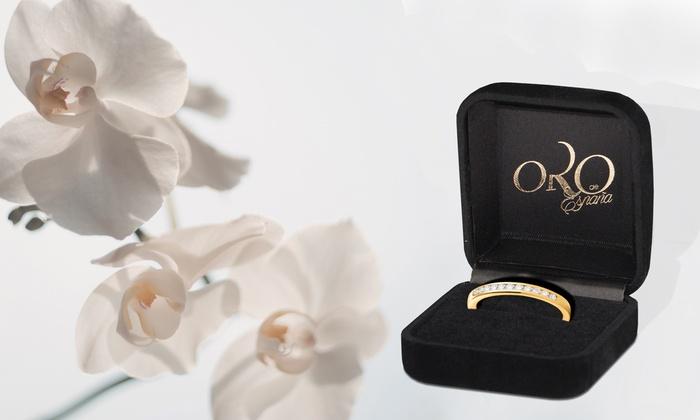 Groupon Goods Global GmbH: Anelli donna Oro de España disponibili in varie misure