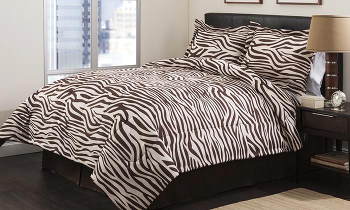 Ellen Tracy 4-Piece Comforter Sets: Ellen Tracy 4-Piece Comforter Sets. Multiple Styles Available. Free Returns.