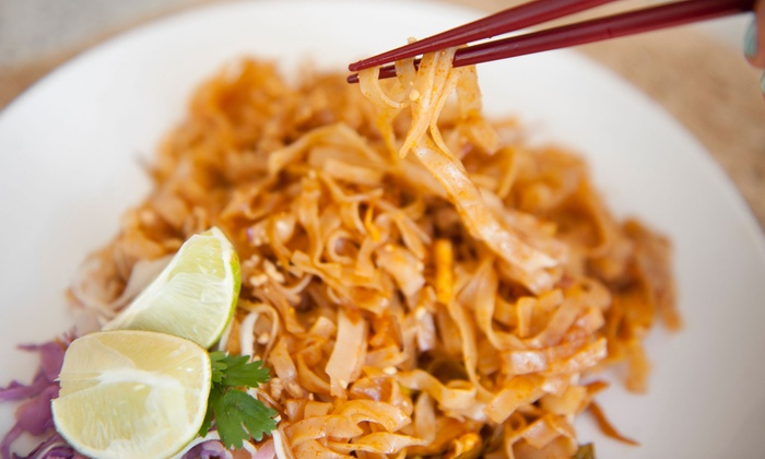 Green Shallots Thai Gourmet Express - Kearny Mesa: $15 for Three Groupons, Each Good for $10 Worth of Thai Food at Green Shallots Thai Gourmet Express ($30 Total Value)