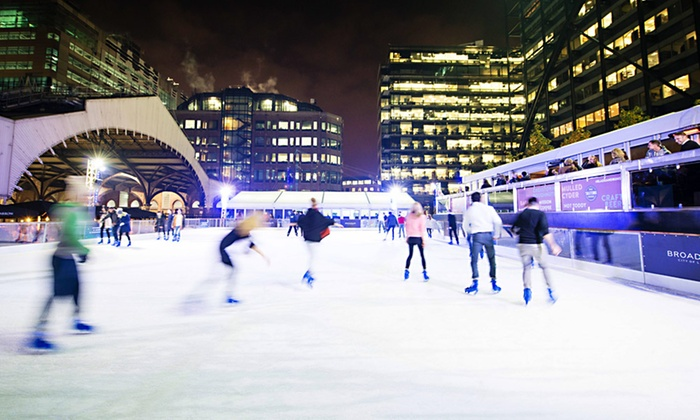 5 Things Regular Couples Can Learn From Pairs Skaters: Broadgate Circle Management Limited In London, GREATER