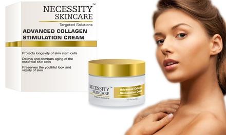 Necessity Skincare Advanced Collagen Simulation Cream; 1oz.
