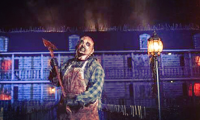 Spookyworld - Litchfield NH: $65.99 for a VIP Visit for Two to Spookyworld's Nightmare New England ($109.98 Value)