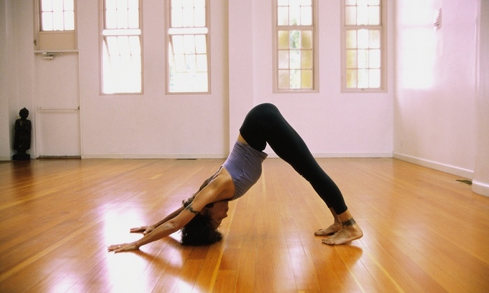 Happy Hour Yoga - Camp Springs: Three Yoga Classes at Happy Hour Yoga (65% Off)