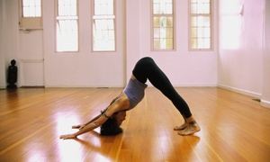 Happy Hour Yoga: Three Yoga Classes at Happy Hour Yoga (65% Off)