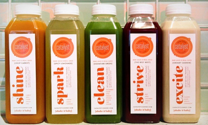 Catalyst Cleanse - Radnor: Three- or Four-Day Juice Cleanse from Catalyst Cleanse (Half Off)
