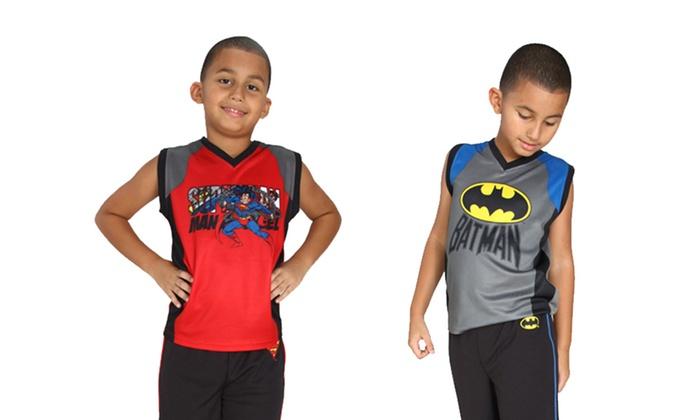 DC Comics 2-Piece Pajama Sets: DC Comics 2-Piece Pajama Sets. Multiple Options Available.