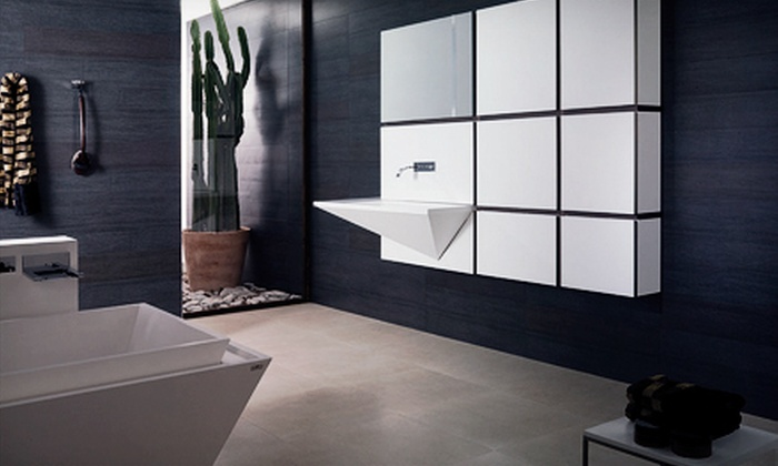 Porcelanosa - Multiple Locations: $125 for $300 Worth of Tile, Hardwood, Kitchenware, and Bathware at Porcelanosa