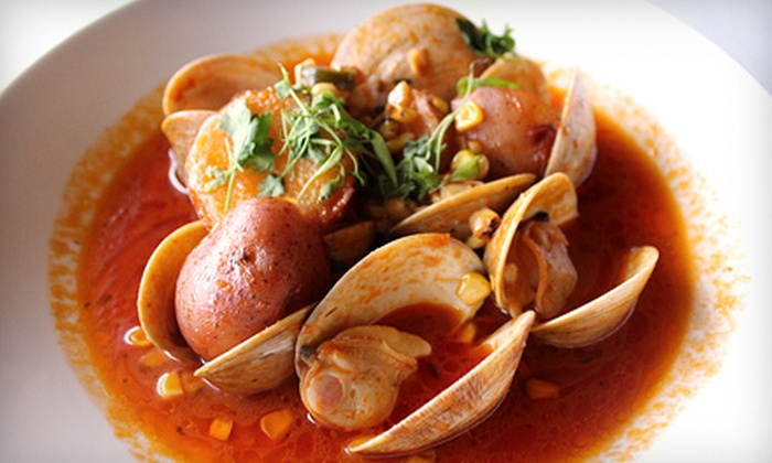 Bistro 135 - East Rochester: Fusion Cuisine at Bistro 135 (Half Off). Two Options Available.