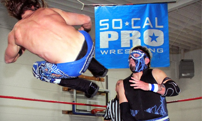 SoCal Pro Wrestling - Loma Alta: SoCal Pro Wrestling Event for Two or Four at Boys & Girls Club on March 23 (Up to 58% Off)