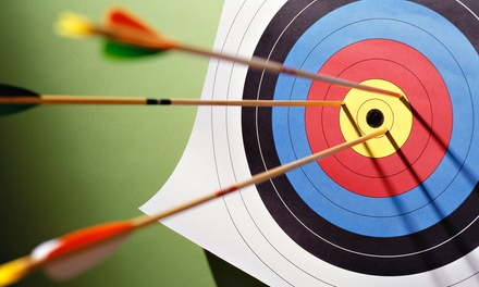 One-Hour Discover Archery Session for One, Two, or Four at Texas Archery Academy (50% Off)