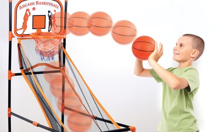 Arcade-Style Basketball Game