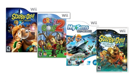 4-Game Kids Bundle for Wii. Free Returns.