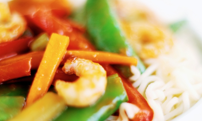 bd's Mongolian Grill - Oldsmar: $12 for $20 Worth of Create Your Own Stir-Fry and Drinks for Dinner at bd's Mongolian Grill