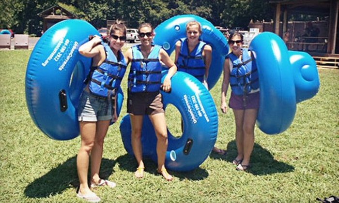 Urban Currents - Sandy Springs: Tubing Trip for Two, Four, or Eight from Urban Currents in Sandy Springs (Up to 61% Off)