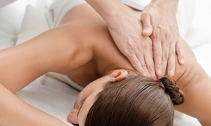 Parma Spa and Center for Health: Massage with Optional Head and Neck Treatment or Couples Massage at Parma Spa and Center for Health (Up to 54% Off)