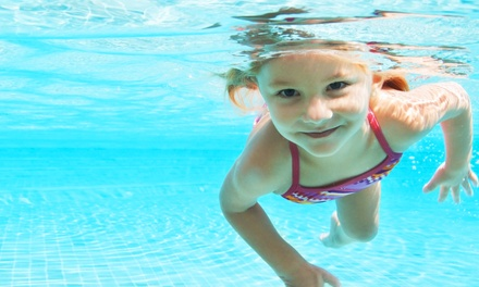 $54 for Four Children's Swim Classes at Aqua-Tots Swim School of Austin ($109 Value)