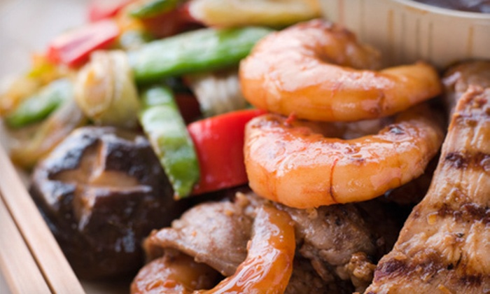 Tombo Hibachi and Tiki Lounge - Fairfield: Hibachi and Japanese Cuisine for Lunch or Dinner at Tombo Hibachi & Tiki Lounge (Up to 53% Off)