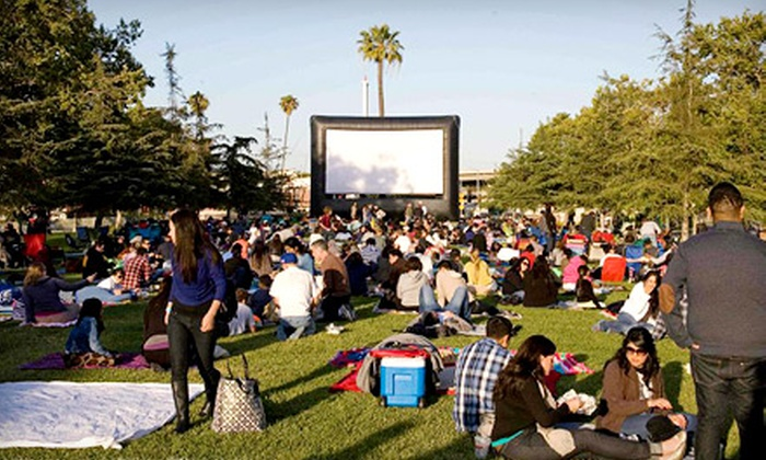 """Street Food Cinema - Multiple Locations: Outdoor """"Escape from Planet Earth"""" Screening from Street Food Cinema (Up to 53% Off). Four Options Available."""