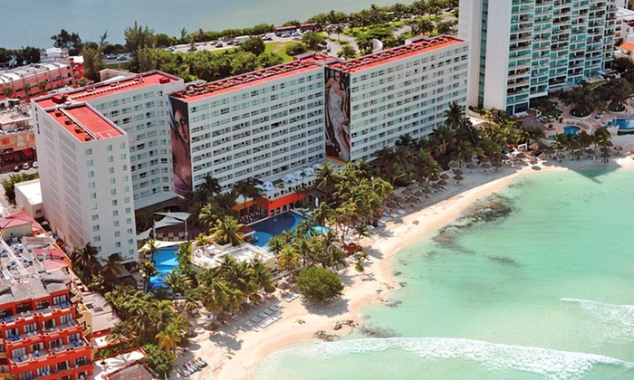 All Inclusive Only Beachfront Resort In Cancún