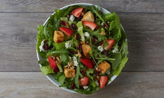Giardino Gourmet Salads - Brentwood: Salads, Wraps, Grain Bowls, and Soups at Giardino Gourmet Salads (Up to 45% Off)