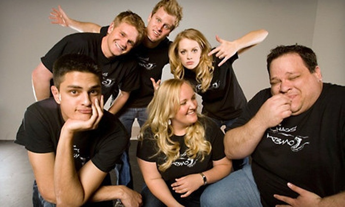 Chaos Comedy Improv - Phoenix: Comedy Show for Two or Four with Popcorn and Sodas at Chaos Comedy Improv at the Dearing Acting Studio (Up to 65% Off)