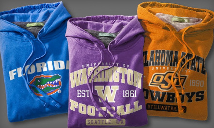 Prep Sportswear: Customizable Fan Gear from Prep Sportswear (Up to 53% Off). Two Options Available.