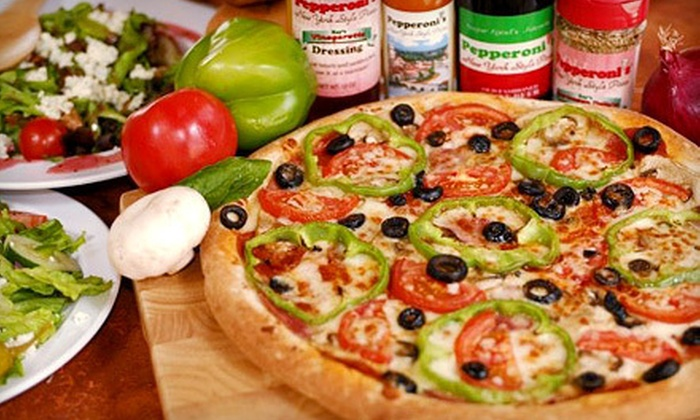 Pepperoni's Pizza - Multiple Locations: $10 for $20 Worth Of Pizza, Calzones, and More at Pepperoni's Pizza